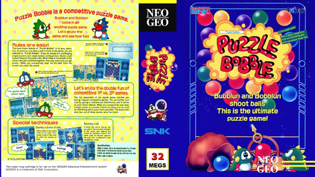 Bust-A-Move/Puzzle Bobble TP