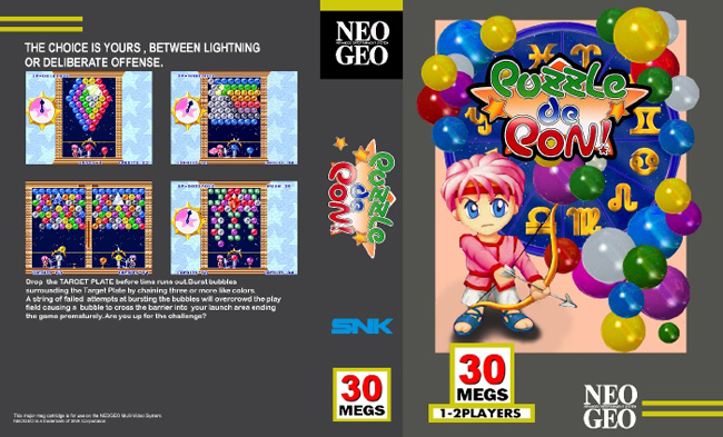 Les Exclu. Neo Geo MVS Puzzledepon!LE