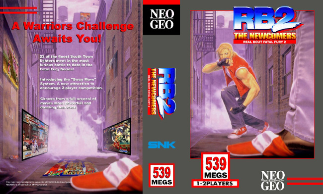 Real Bout Fatal Fury 2 NC/1