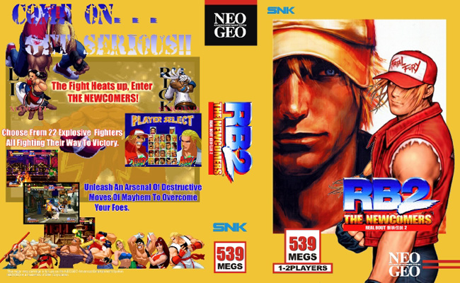 Real Bout Fatal Fury 2 K