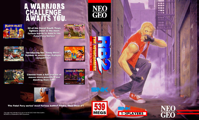 Real Bout Fatal Fury 2 NC/2