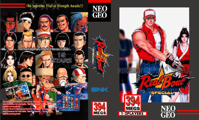 Real Bout Fatal Fury Special BB