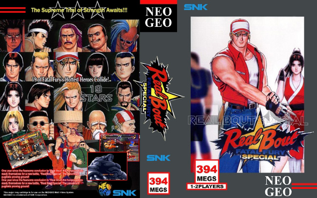 Real Bout Fatal Fury Special JH