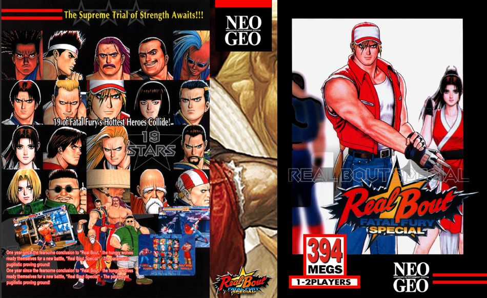 Real Bout Fatal Fury Special JR Box