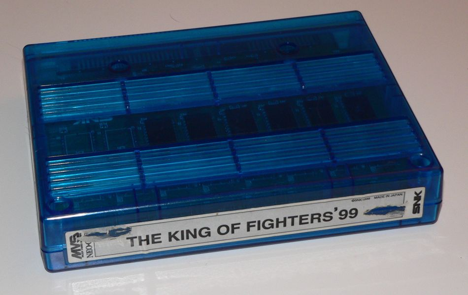 King of Fighters '99 MVS w/ Shockbox & Insert