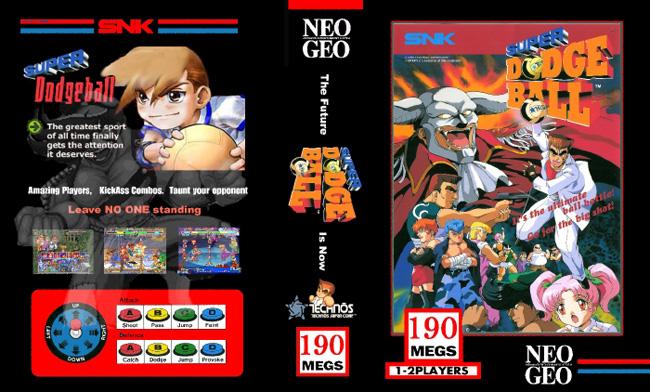 Les Exclu. Neo Geo MVS SuperdodgeballWK