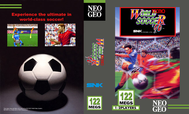 Les Exclu. Neo Geo MVS Tecmo96