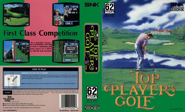 Top Player's Golf WK