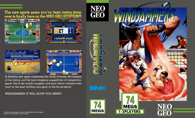 Windjammers BB/LE